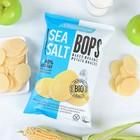 Органические картофельные снеки Бопс, с морской солью, 85 г