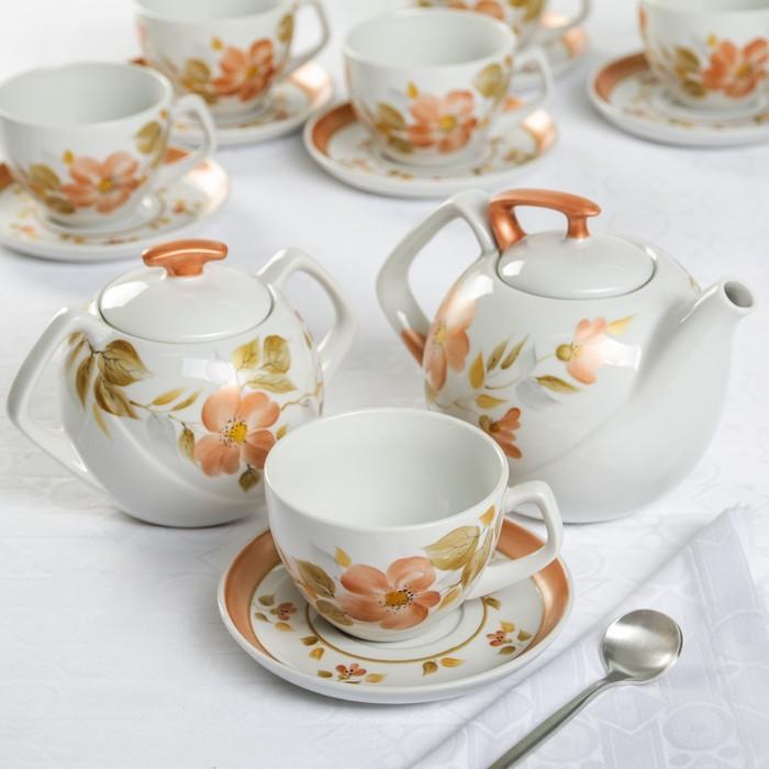 """Сервиз чайный """"Искушение"""" 14 предметов"""