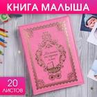 """Книга малыша для девочки """"Маленькая наследница семьи"""": 20 листов"""