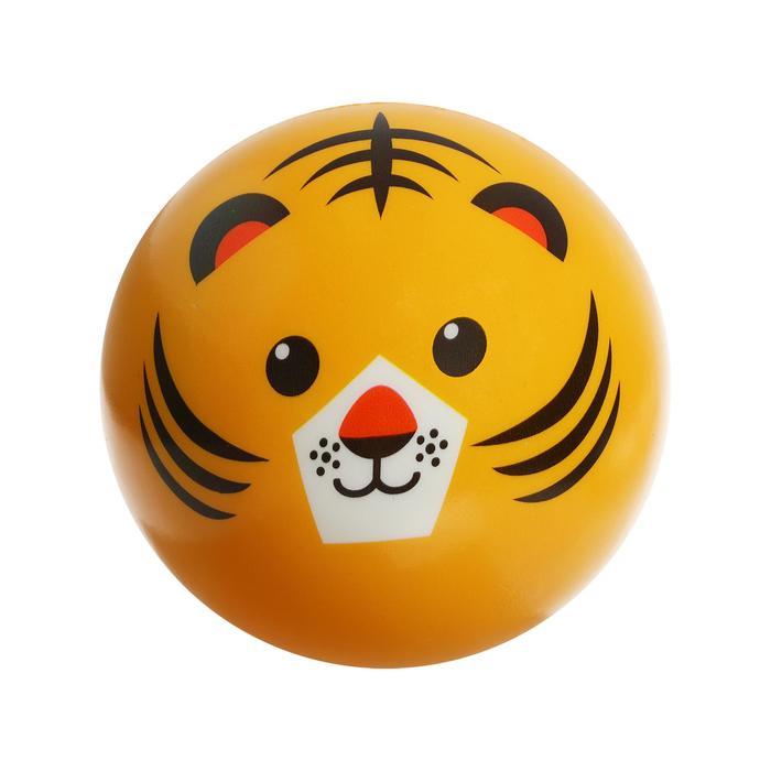 Мяч мягкий «Тигр», 15 см