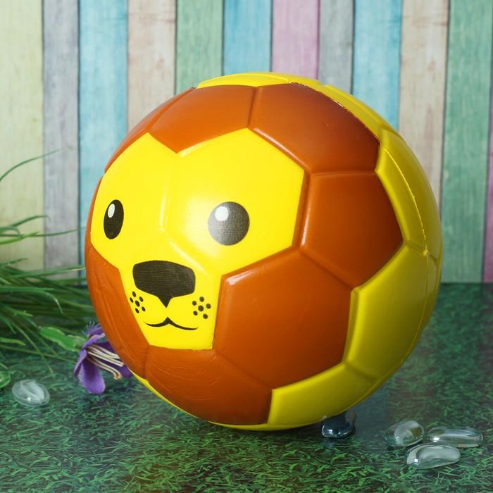 Мяч мягкий «Лев», 15 см