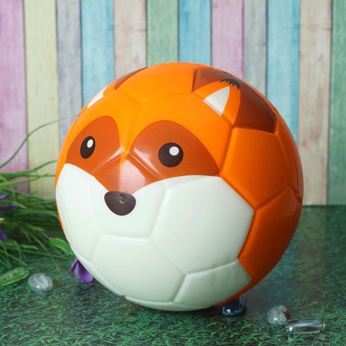 Мяч мягкий «Лиса», 15 см