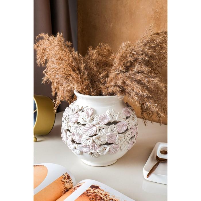 """Ваза настольная """"Элегия"""", лепка, 17 см, керамика - фото 817815"""