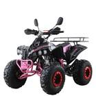 Квадроцикл бензиновый MOTAX ATV Raptor-7 125 сс, Черно-розовый