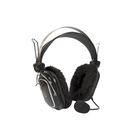 Гарнитура A4Tech HS-60 2.5м мониторы оголовье черный
