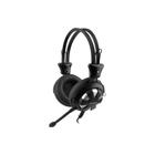 Гарнитура A4Tech HS-28 1.8м мониторы оголовье (HS-28 (BLACK)) черный
