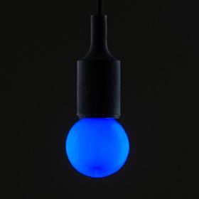 Лампа светодиодная декоративная, G60, 5 SMD2835, для белт-лайта, синий