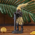 "Сувенир дерево ""Абориген поёт"" 14х7,5х7,5 см"