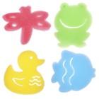 """Game set for children's bathing """"In the pond"""", sponge - sponge, 4 PCs."""