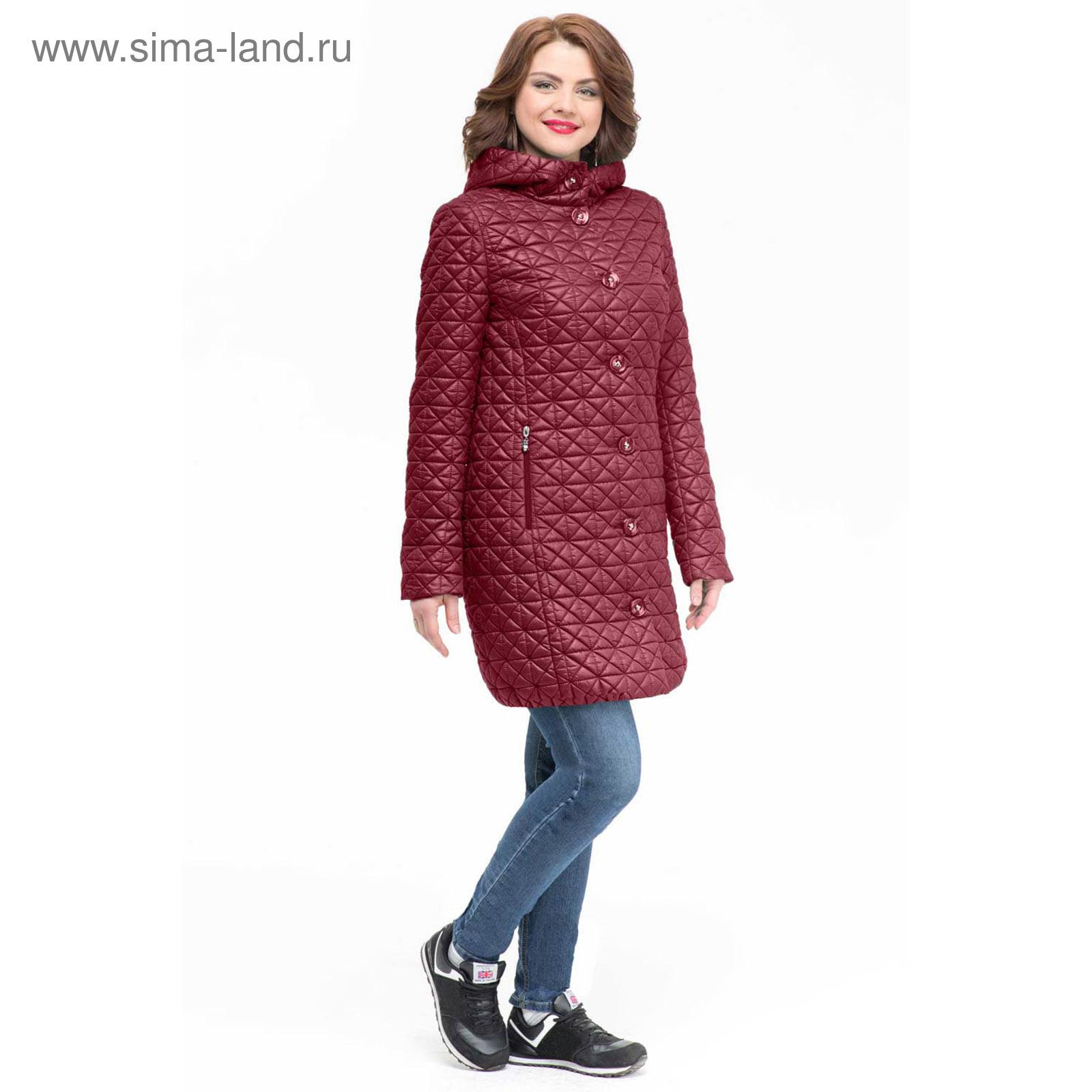Полупальто женское 3-683-60 цвет румба 3426cd8907084
