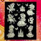 Неоновые открытки «Чудесные принцессы» - фото 105591118