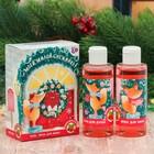 """Детский подарочный набор """"Моей милой снежинке!"""": гель для душа и пена для ванны с ароматом земляники"""