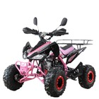 Квадроцикл бензиновый MOTAX ATV T-Rex-7 125 cc, черно-розовый