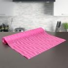 """Коврик противоскользящий сервировочный """"Одуванчики"""" 45х100 см, цвет розовый"""