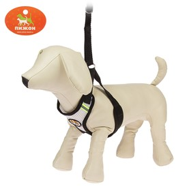 The adjustable harness breathable, reflective, size M, black