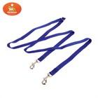 Сворка для двух собак, каждая 90 х 1,5 см, синяя