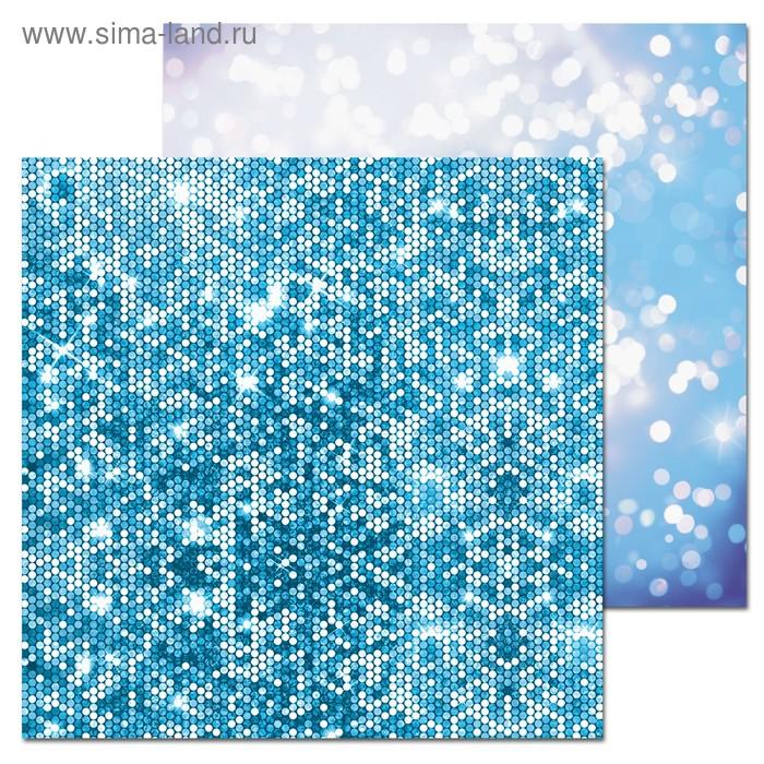 Фотофон двусторонний «Лёд», 45 × 45 см, картон, 100 г/м