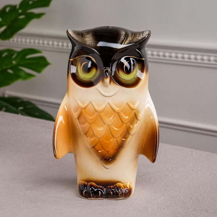 "Копилка ""Филин"", керамика, 28 см, микс"