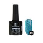 Гель-лак TNL Glitter №03, Голубой, 10 мл