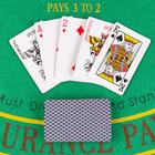 """Playing cards paper """"Bear"""", 54 pieces 55х85 mm, mix"""