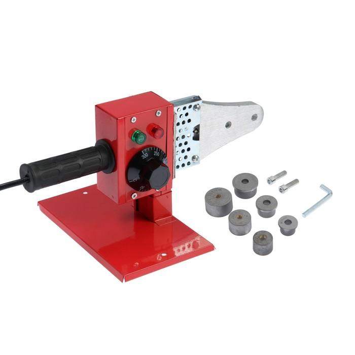 Аппарат для сварки пластиковых труб LOM, 600 Вт, комплект насадок 20-32 мм, 50-300°