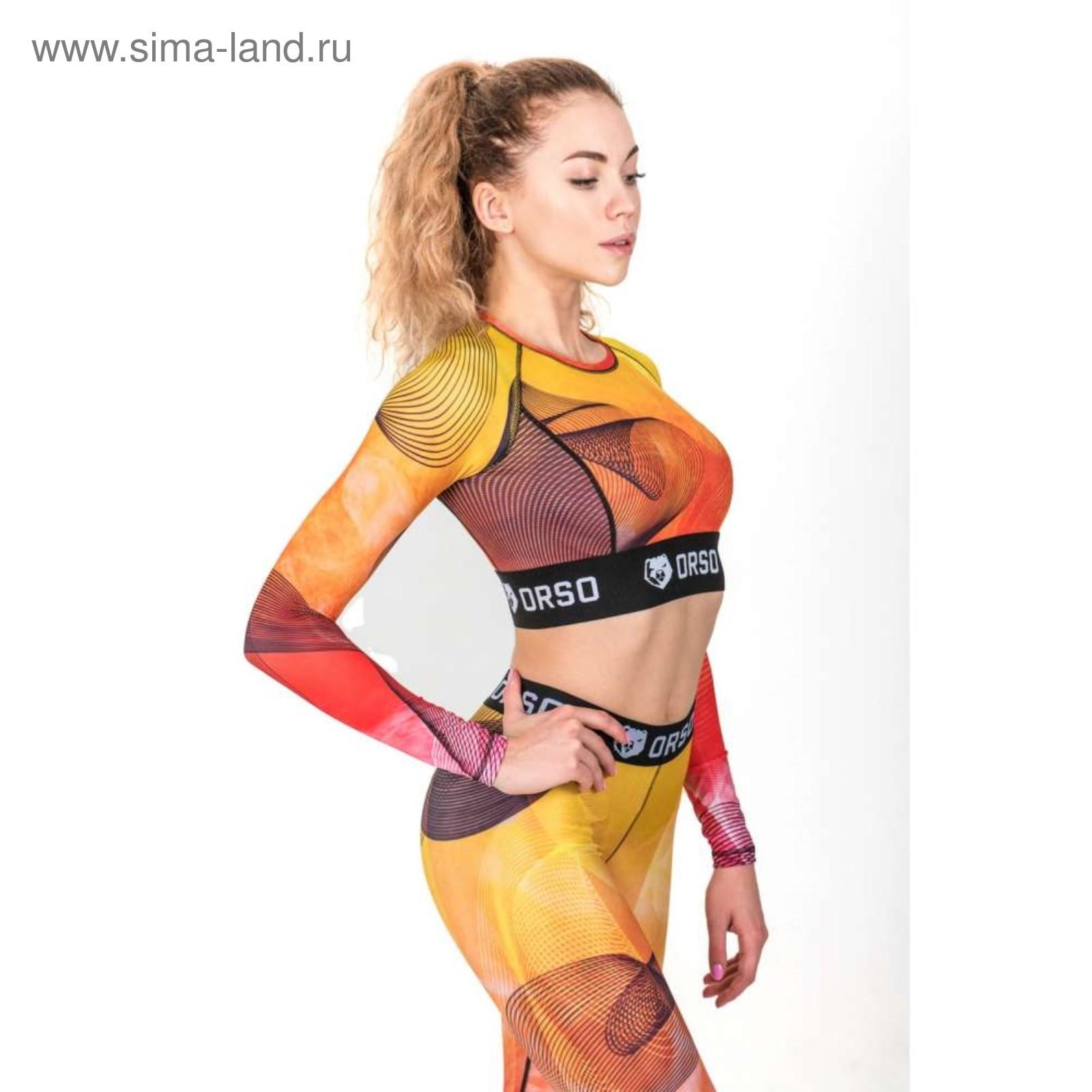 Компрессионный топик женский FireFox - длинный рукав, размер XS ... f7119101581