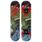 Скейтборд «Дракон», размер 62x16 см, колёса PVC d-50 мм, цвета микс