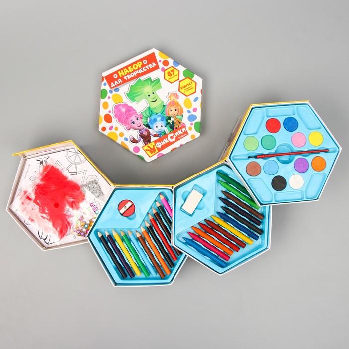 Набор для рисования, 47 предметов, Фиксики
