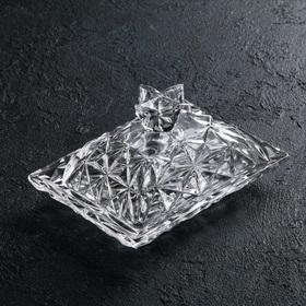 Маслёнка «Ананас», 12×15×9,7 см