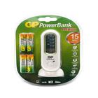 Зарядное устройство GP PowerBank PB80GS270SA AA NiMH 2700mAh+4 шт. аккумулятора