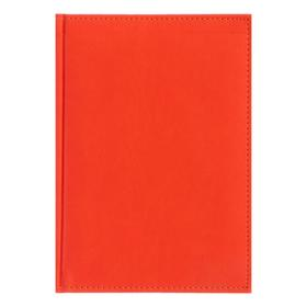 Ежедневник датированный 2020 г, А5, 168 листов «Вивелла», искусственная кожа, перфорация углов, ляссе, оранжевый Ош
