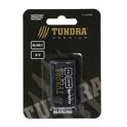 Батарейка алкалиновая TUNDRA, 6LR61, 9V, блистер, 1 шт