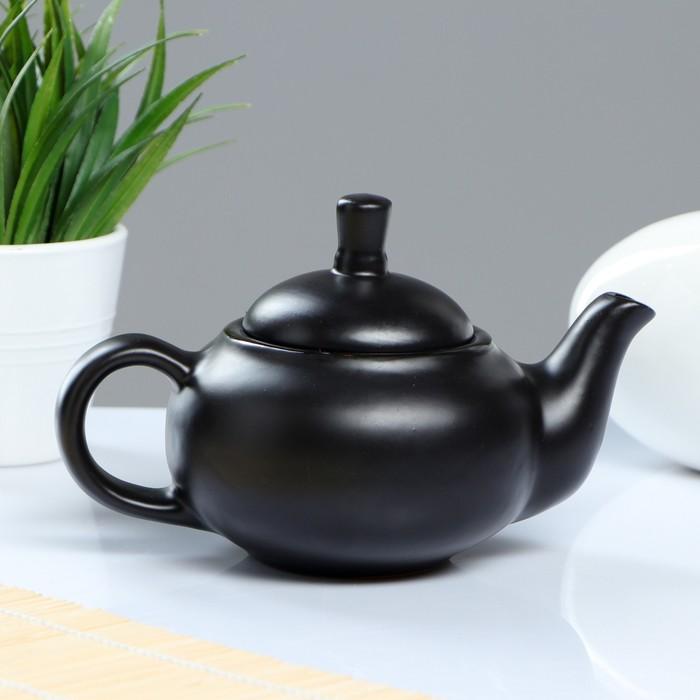 Чайник Кроха младший 0,4 л черный атлас
