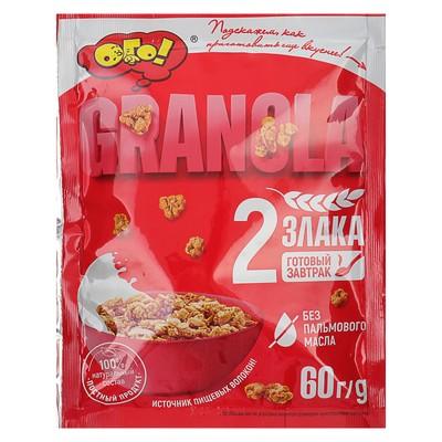 ОГО! Смесь зерновая запеченная «Гранола» 60 гр