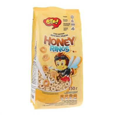 """ОГО! Сухой завтрак """"Колечки с медом"""" 150 грамм (Шоу-бокс)"""