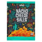 "Кукурузные чипсы OHO! с сыром ""Nacho Cheese balls"" 80 г."
