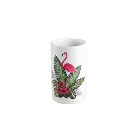Стакан для зубных щёток Flamingo