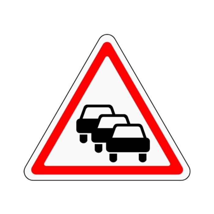 Знак дорожный 1.32 «Затор»