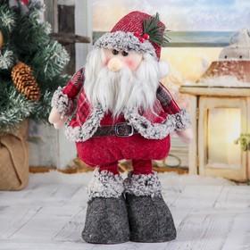 """Мягкая игрушка """"Дед Мороз в шубке - длинные ножки"""" стоит 17*56 см в Донецке"""