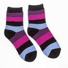 Носки женские махровые, цвет голубой, размер 23-25