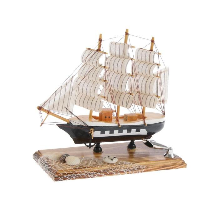 Декор настольный «Морская романтика» с подставкой для ручки, микс, 19,5 х 9,5 х 18 см