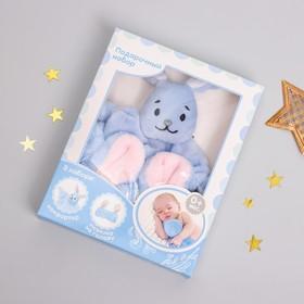 Игрушка для новорождённых «Зайка» + повязка