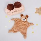 Игрушка для новорождённых «Мишутка» + повязка - фото 105499401