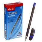 Ручка шариковая Aplus, антискользящий корпус, узел 0.7мм, чернила синие