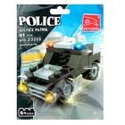Конструктор «Полицейский джип», 41 деталь - фото 105635826