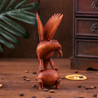 """Сувенир дерево """"Птица на шаре"""" 15х8х5 см"""