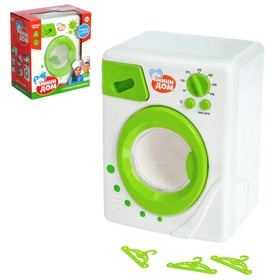 "Washing machine ""Mini-house"", light and sound effects, the drum rotates"