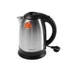 Чайник электрический Scarlett SC-EK21S60, 1800 Вт, 1.8 л, серебристый