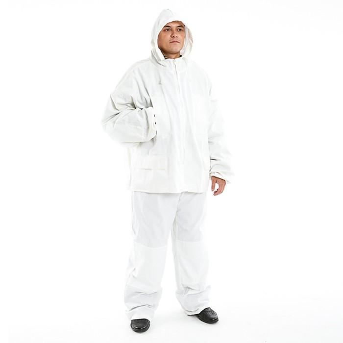 Маскхалат, белый
