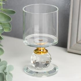 Glass candle holder 1 candle